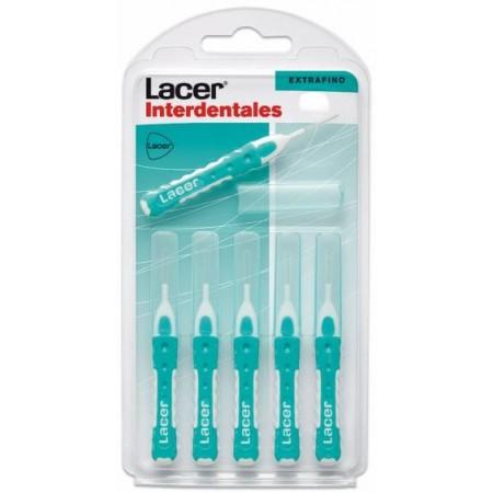 Interdentales Lacer Extrafino recto 6 unidades