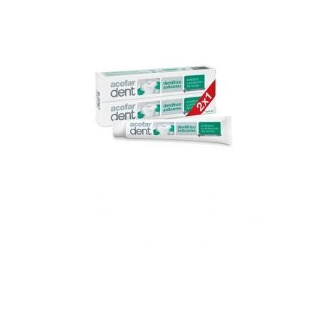 Dentífrico Acofar anticaries duplo 2x75 ml