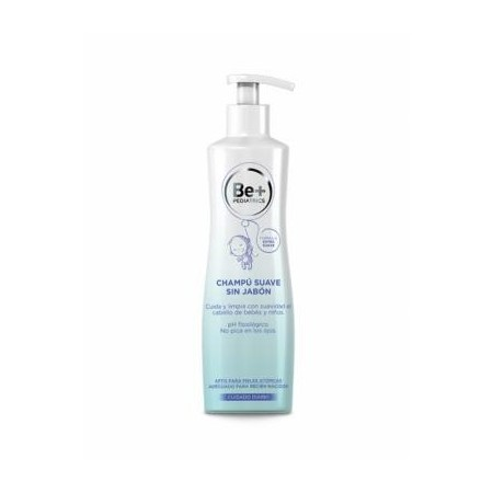 Be+ pediatrics champú sin jabón 300 ml