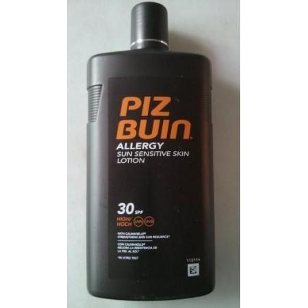 Piz buin loción pieles sensibles SPF30 400 ml