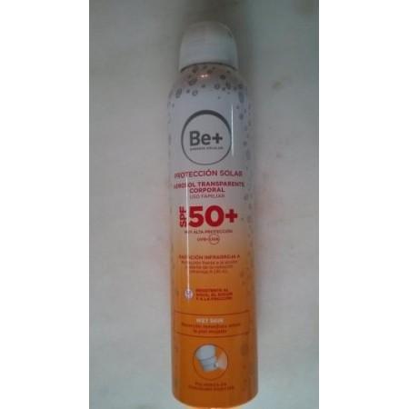 Be+ aerosol transparente corporal wet skin 200 ml