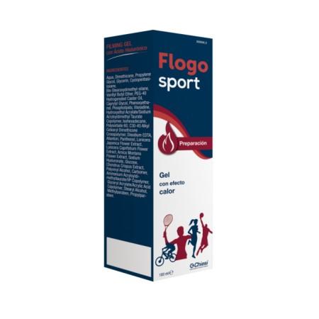 Flogosport preparación gel efecto calor 100 ml