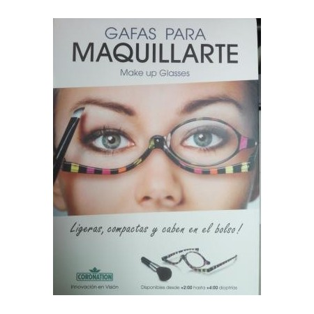 Gafas de maquillaje make up 2.0