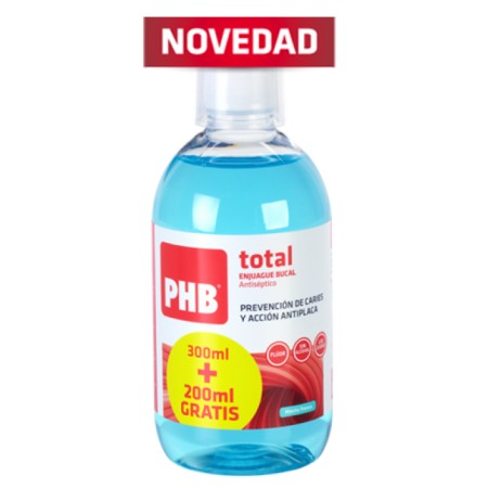 PHB total enjuague bucal 300+200 ml