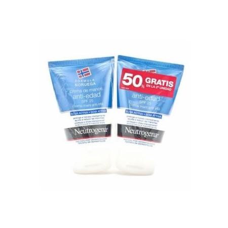 Neutrógena Crema de manos Antiedad 2x50 ml. duplo