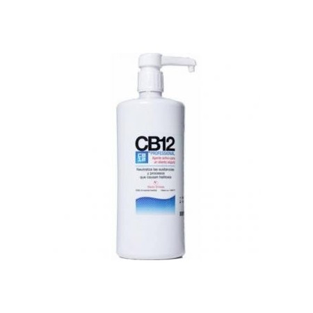 CB 12 enjuague bucal buen aliento 1000 ml.