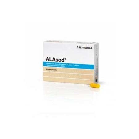 ALAsod 20 comprimidos.