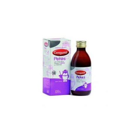 Ceregumil Pekes jarabe 250 ml.