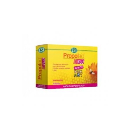 Propolaid flu junior 100 mg 10 sobres.