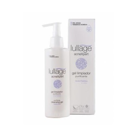 Lullage AcneXpert gel limpiador purificante 200 ml.