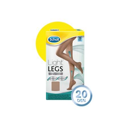 """Scholl medias """"Light Legs"""" 20 DEN carne talla L"""