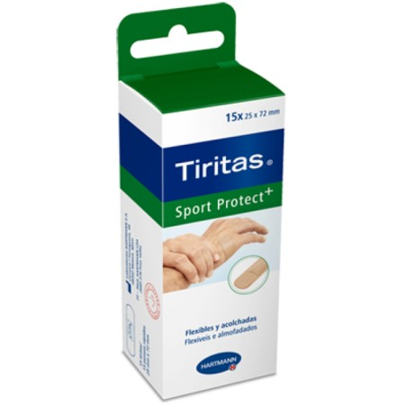 TIRITAS PROTECT PLUS 25 X 72 15 UNID.