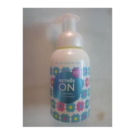 Jabón de manos en espuma dulce tentación 250 ml