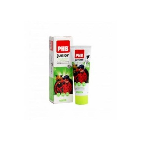 Pasta PHB® Junior Ladybug sabor menta 75 ml