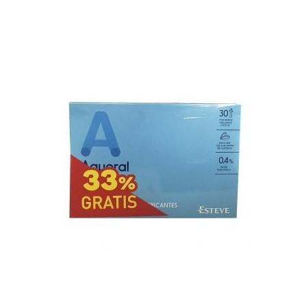 Aquoral duplo 2x30 monodosis