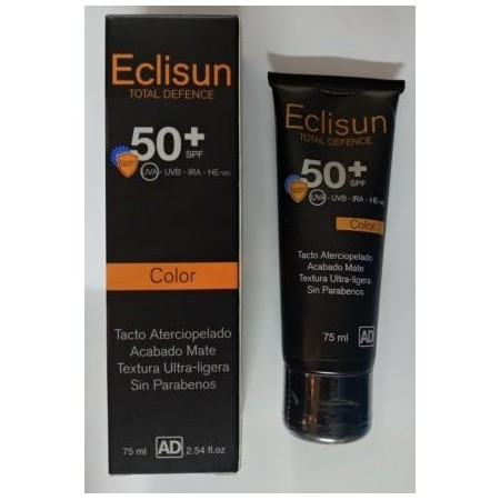 ECLISUN SPF50+ COLOR 75 ML.