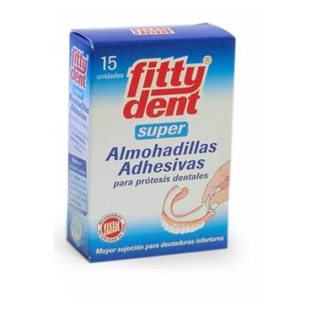 Fittydent® Super Almohadillas Adhesivas 15 unidades