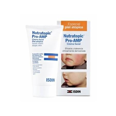 Nutratopic Pro-AMP crema facial 50 ml.