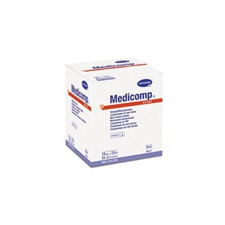MEDICOMP COMPRESAS APOSITO ESTERIL 10X10 CM 25X2 UNIDADES