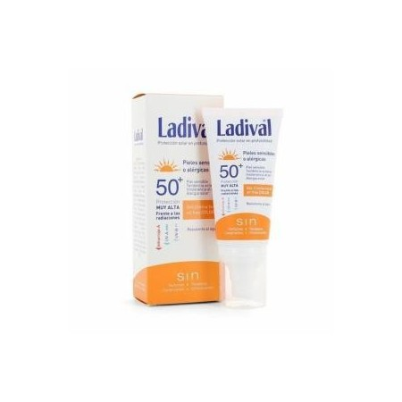 Ladival gel crema facial con color FPS50 50 ml