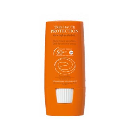 Stick Avène SPF 50+ Zonas sensibles 8 g