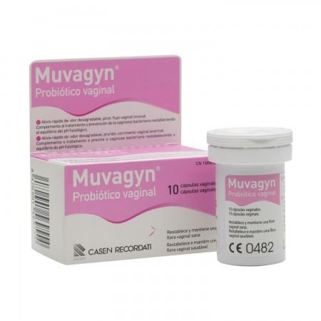 MUVAGYN PROBIOTICO CAPSULA VAGINAL 10 CAPS VAGINAL