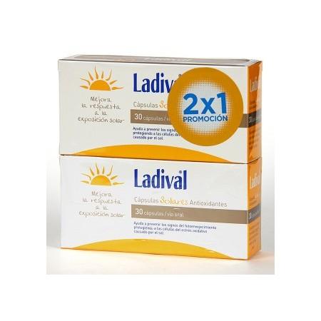 LADIVAL CAPS SOLARES ANTIOX 30UNI DUPLO