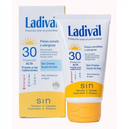 LADIVAL FPS30 PIELES SENSIBLES O ALERGICAS 75 ML