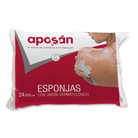 APOSAN ESPONJA ENJABONADA 24 U