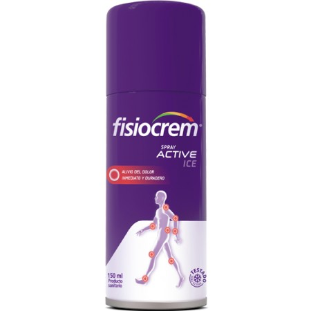 FISIOCREM SPRAY ACTIVE ICE 150 ML