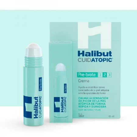 HALIBUT CUIDATOPIC CREMA PRE-BROTE 15 ML