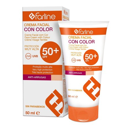 FARLINE SOLAR FP 50+ FACIAL ANTIARRUGA ANTIMANCHA COLOR 50 ML