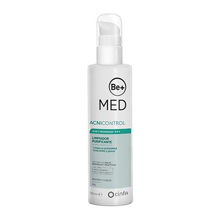 BE+ MED ACNICONTROL GEL LIMP PURIF MAT 200ML