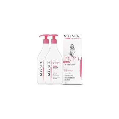 MUSSVITAL DERMACT. PACK 2 GEL INTIM JUNIOR 250ML