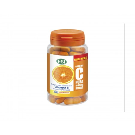 VITAMINA C PURA RETARD  1000 MG 90 COMP