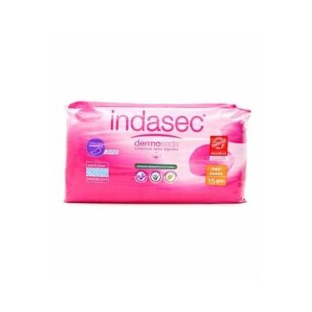 INDASEC MAXI - Capacidad de absorción de 600 ml. 15 unid.