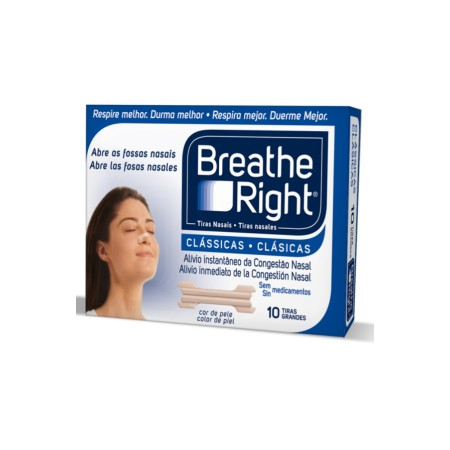 Tiras clásicas Breathe Right grande 30 unid.