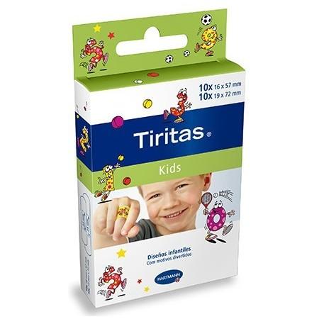 Tiritas Kids 20 unidades de 2 tamaños