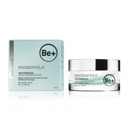 BE+ ENERGIFIQUE ANTIARRUGAS CR HIDRAT REESTRUCTURANTE PIEL N-MX SPF20 50 ML