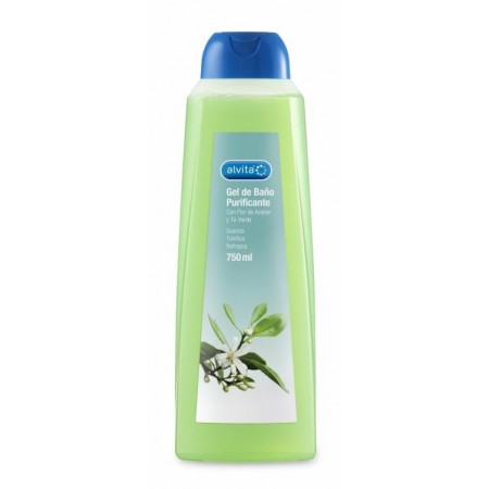Gel de baño Alvita purificante 750 ml