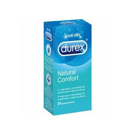Preservativo Durex Natural Comfort 24 unidades