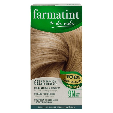 FARMATINT 9N RUBIO MIEL 135 ML.
