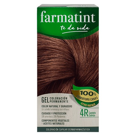 FARMATINT 4R CASTAÑO COBRIZO 135 ML.