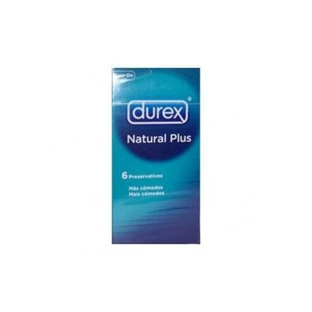 Preservativo Durex Natural Comfort 6 unidades