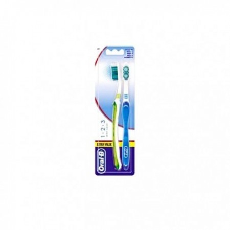 ORAL-B CEPILLO DENTAL ADULTO ADVANTAGE 1,2,3