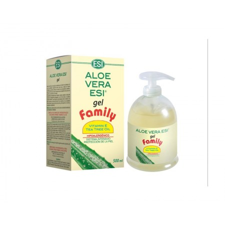 ALOE VERA GEL FAMILY C/A.T. (500ML.)