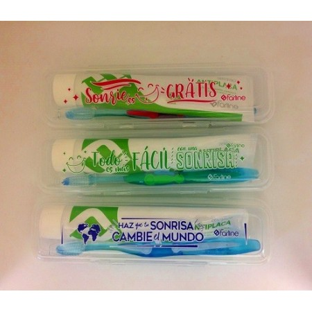 ESTUCHE FARLINE DENTAL ADULTO CEPILLO + PASTA 125 ML
