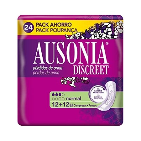 ABSORB INC ORINA MUY LIGERA AUSONIA DISCREET NORMAL 24 U