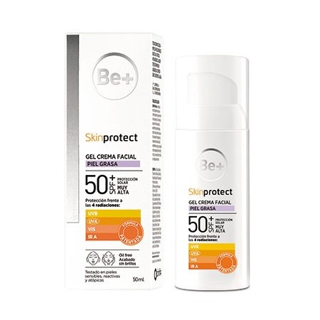 BE+ SKIN PROTECT PIEL ACNEICA SPF50+ 50ML