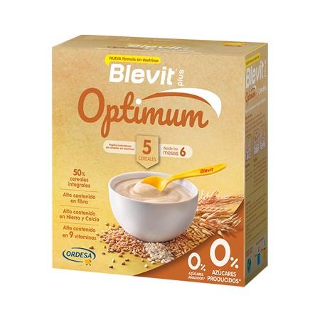BLEVIT PLUS OPTIMUM 5 CEREALES 1 ENVASE 400 G